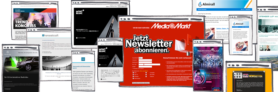 Responsive Newsletter Designs and Landing Pages Templates